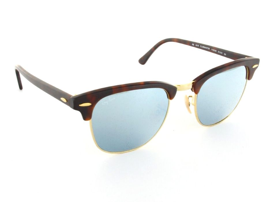 Ray-Ban -- RB3016 Clubmaster glasses only $160.00. Add lenses for $14.95
