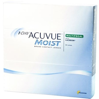JOHNSON & JOHNSON 1-Day Acuvue Moist Multifocal 90 Pack