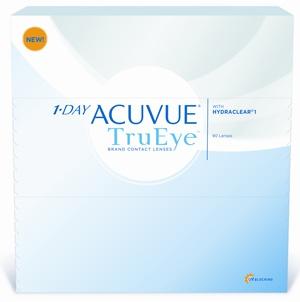 JOHNSON & JOHNSON 1-Day Acuvue TruEye 90 Pack