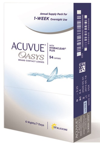 JOHNSON & JOHNSON Acuvue Oasys 1-Week Overnight