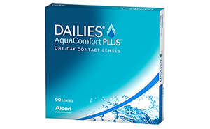 CIBA Vision Dailies AquaComfort Plus 90 Pack