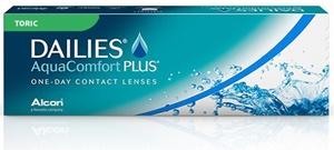 CIBA Vision Dailies AquaComfort Plus Toric 30 Pack