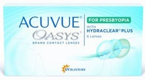 JOHNSON & JOHNSON Acuvue Oasys for Presbyopia