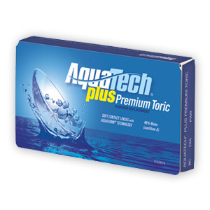 AquaTech Plus Premium Toric Contact Lenses