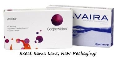 Cooper Vision Avaira