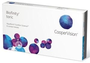 Cooper Vision Biofinity Toric (Same as AquaClear Toric)