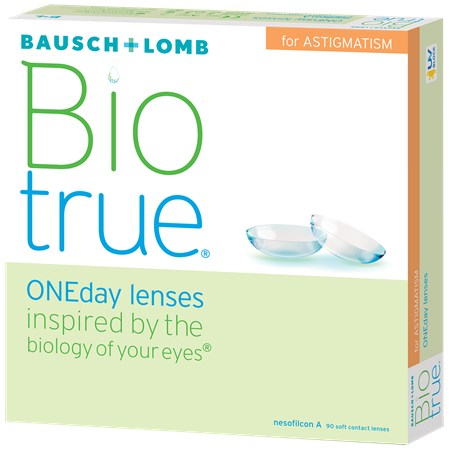 Biotrue ONEday for Astigmatism (90 pack)