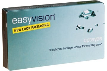 Biofinity 6 Pack (Same as Easyvision Opteyes) Contact Lenses