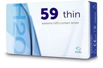 Hydrogel vision Extreme H2O 59 Thin