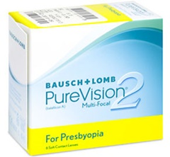 Purevision 2 Multi-focal (For Presbyopia) Contact Lenses